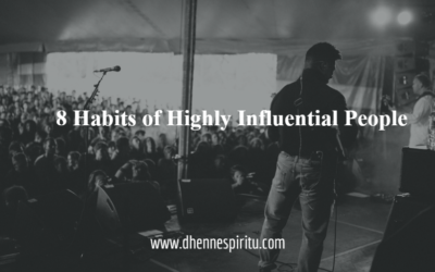 8 Habits of Highly Influential People